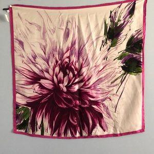 Gorgeous Talbots floral silk scarf